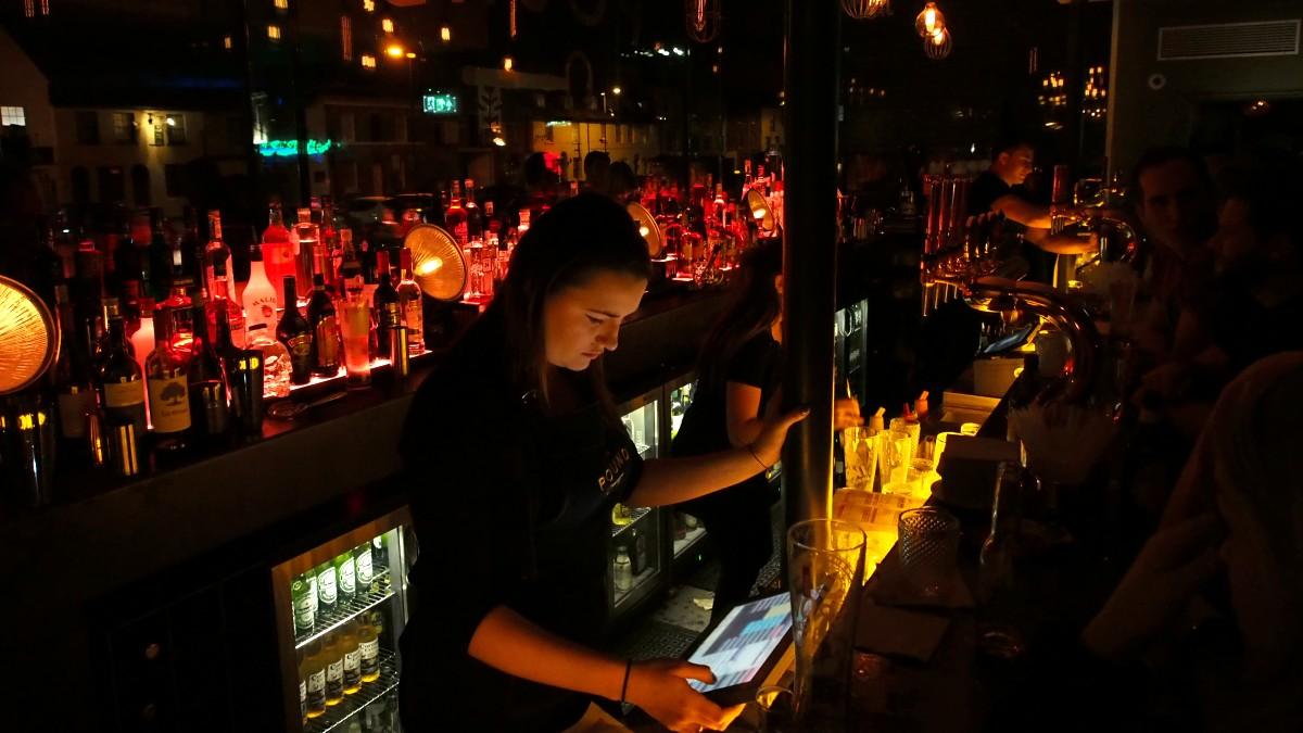 The Pound Canterbury Bar Lighting