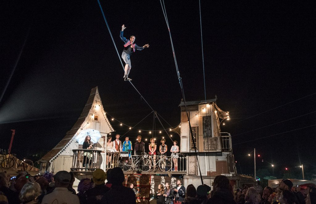 caravanserai tightrope