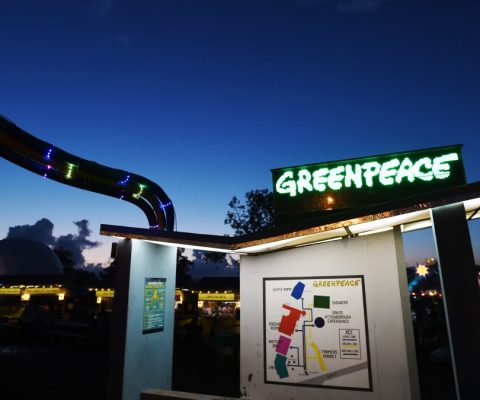 Greenpeace Glastonbury 2016