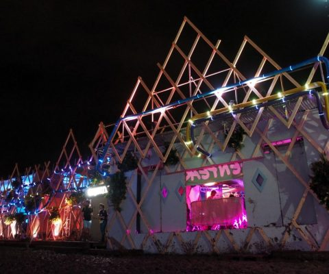 Greenpeace at Glastonbury 2016 - Venue Facade