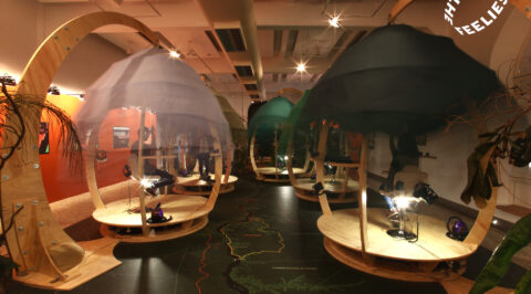 The Feelies multisensory VR pods in Brasil