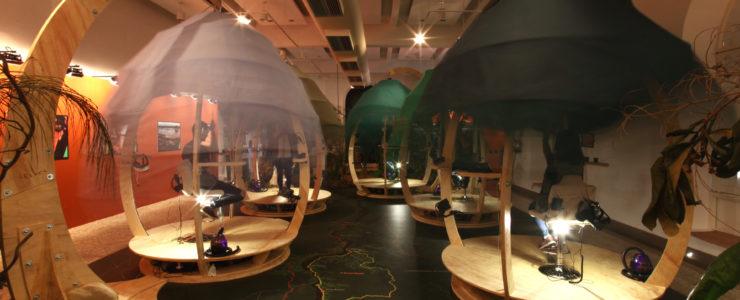 The Feelies multisensory VR pods in Brasil