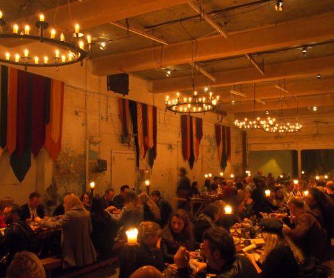 ACO banquet chandeliers
