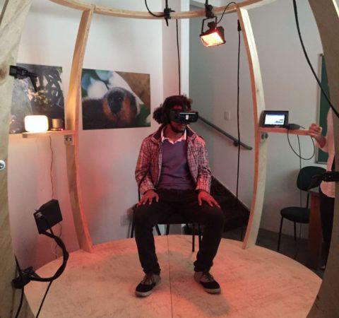 feelies VR pod heat and wind