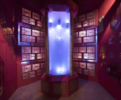 Epic Room Bollywood Space set lighting 4