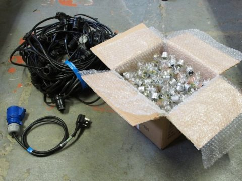 Rental - Festoon kit