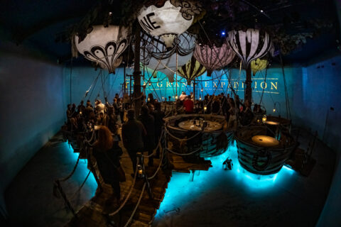 the grand expedition immersive lighting