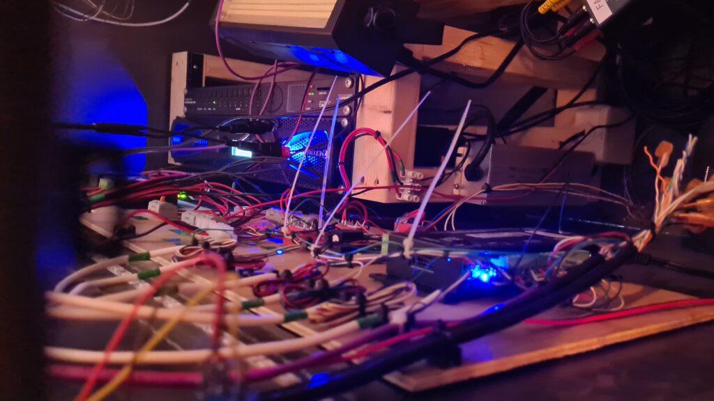 wires before oschii